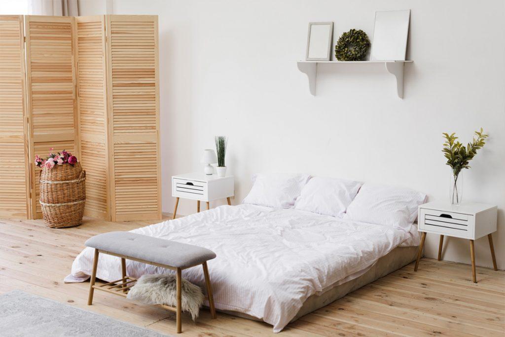 Dormitorio al estilo Feng Shui