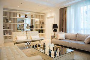 salon de decoracion moderna elegante