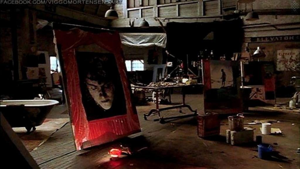 estudio loft pintura un crimen perfecto